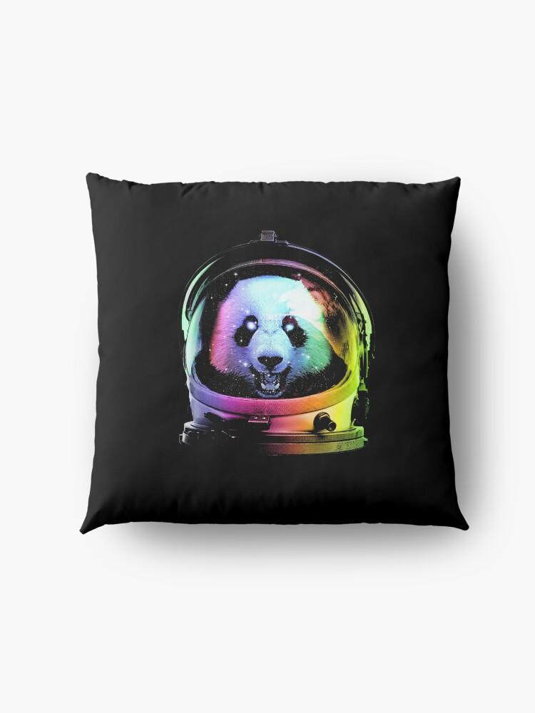 Alternate view of Astronaut Panda Floor Pillow