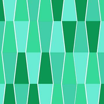Block Pattern Green by miniverdesigns