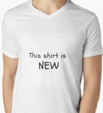 THIS SHIRT IS NEW Men's V-Neck T-Shirt