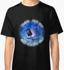 Dr Who Star Trek Race Through Time 2 Classic T-Shirt