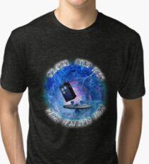 Dr Who Star Trek Race Through Time 2 Tri-blend T-Shirt