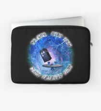 Dr Who Star Trek Race Through Time 2 Laptop Sleeve