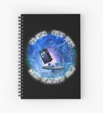 Dr Who Star Trek Race Through Time 2 Spiral Notebook