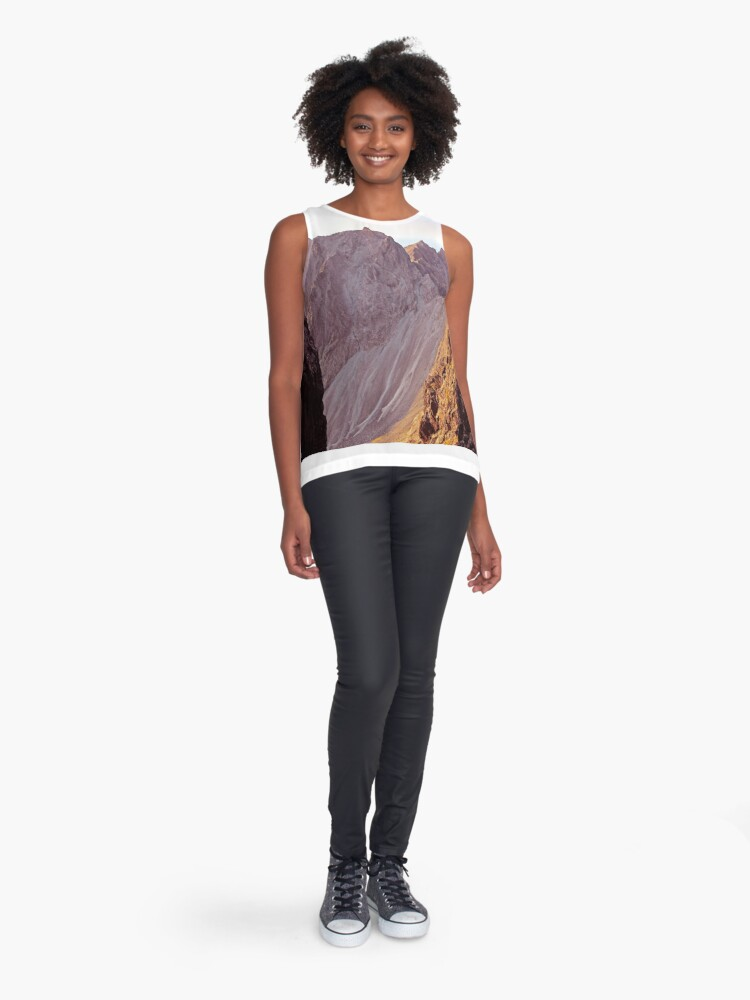 Alternate view of From The Great Stone Chute Sleeveless Top