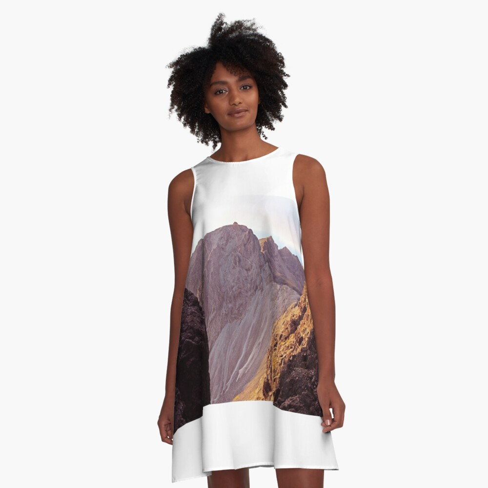 From The Great Stone Chute A-Line Dress
