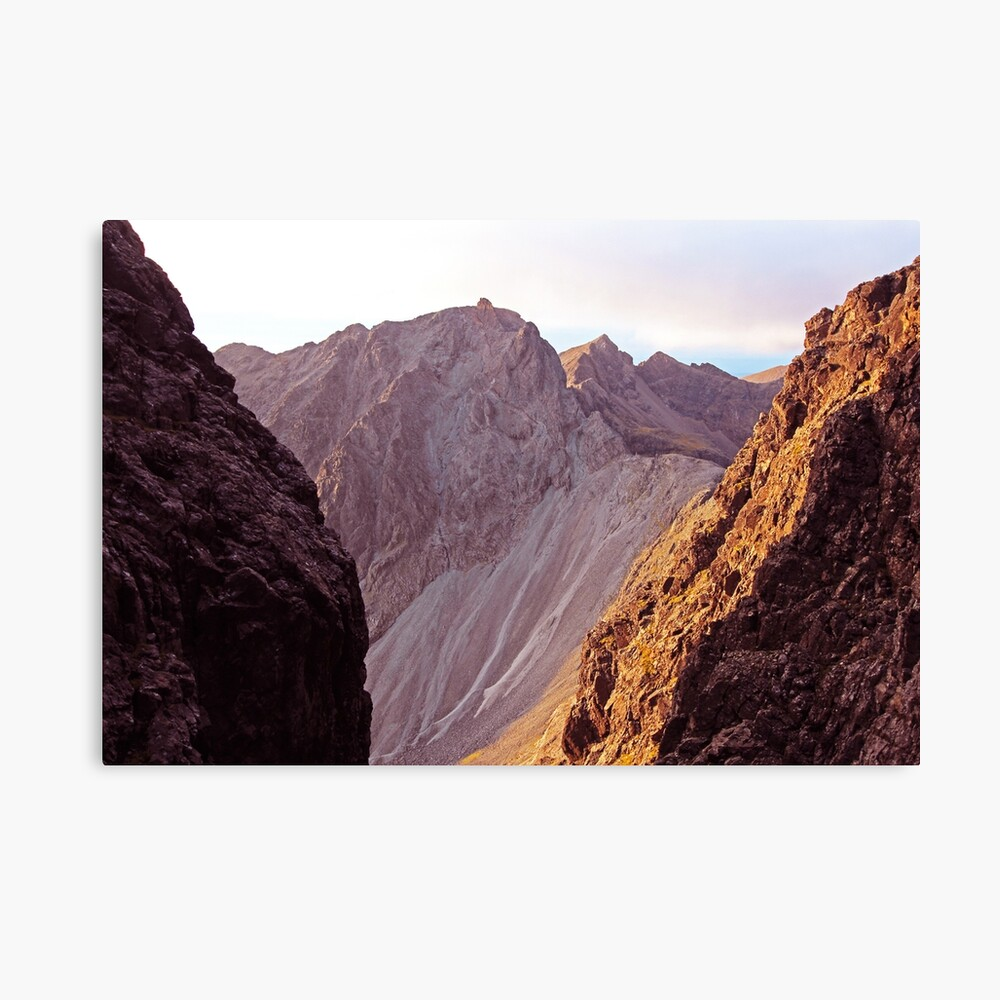 From The Great Stone Chute Canvas Print
