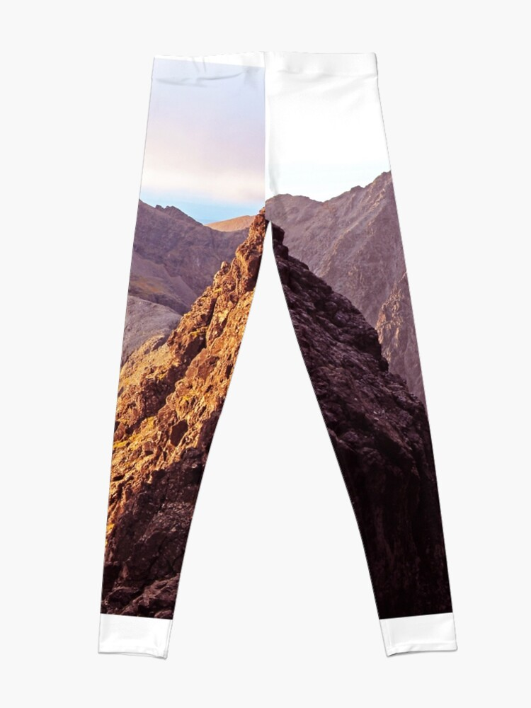 Alternate view of From The Great Stone Chute Leggings