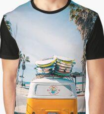 Combi van surfen Grafik T-Shirt