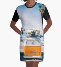 Vestido camiseta Combi van surf
