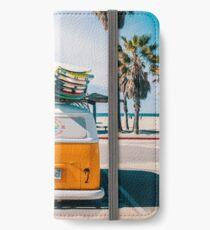 Combi van surfen iPhone Flip-Case/Hülle/Klebefolie