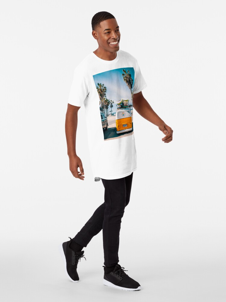 Alternate view of Combi van surf Long T-Shirt