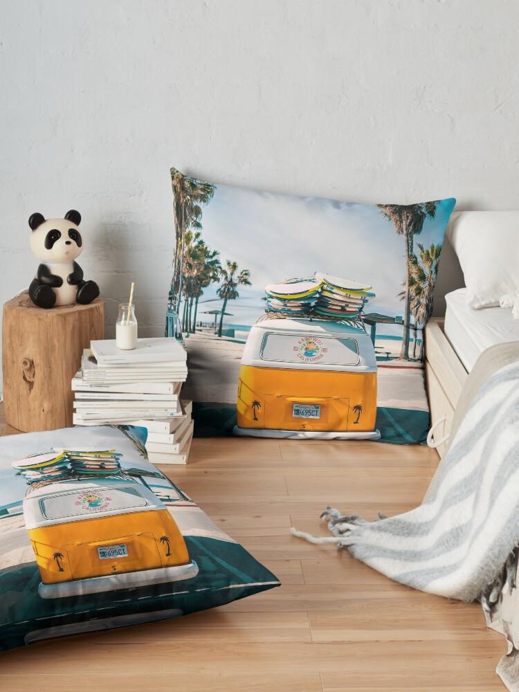 Alternate view of Combi van surf Floor Pillow