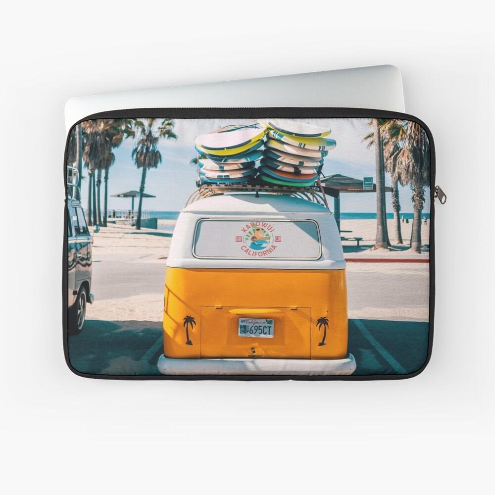 Combi van surf Laptop Sleeve