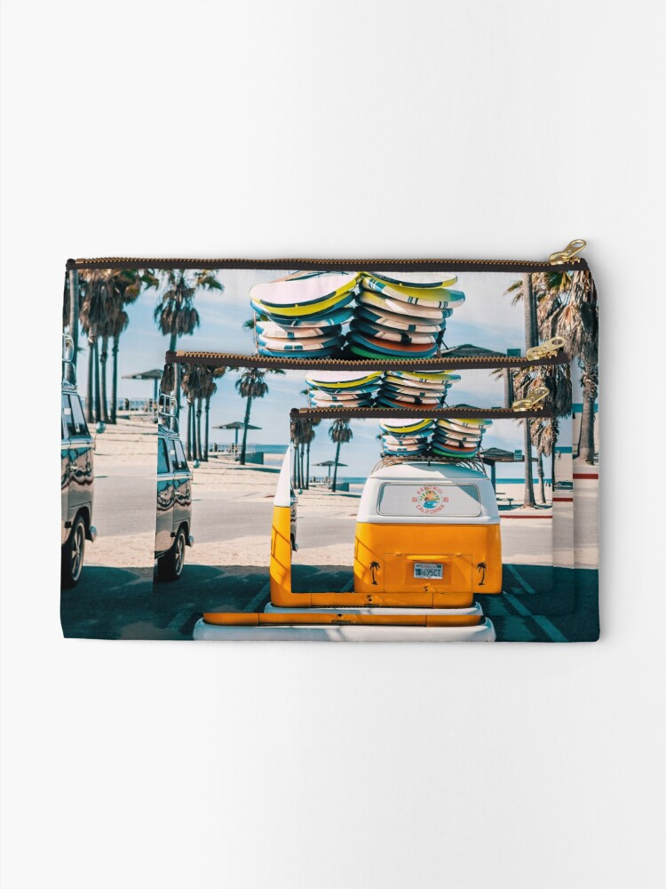 Alternate view of Combi van surf Zipper Pouch