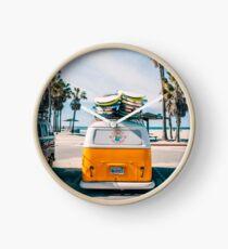 Combi van surf Clock