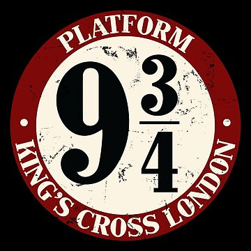 Platform 9¾ Distressed Variant by Purakushi