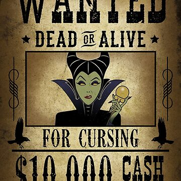 WANTED - For cursing by SwanStarDesigns