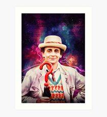 Seventh Doctor Art Print
