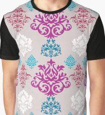 Multicoloured Damask Graphic T-Shirt