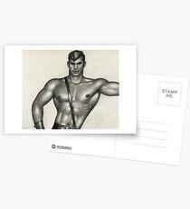 Belt on Torso Postcards
