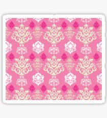 Multicoloured Damask Two Sticker