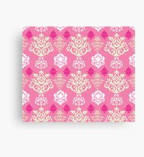 Multicoloured Damask Two Canvas Print