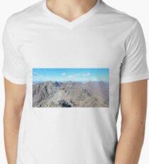 The Black Cuillin From Sgurr Alasdair V-Neck T-Shirt