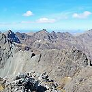 The Black Cuillin From Sgurr Alasdair by ScotLandscapes