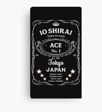 Io Shirai Whisky Label Canvas Print