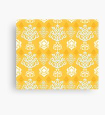 Multicoloured Damask Four Canvas Print