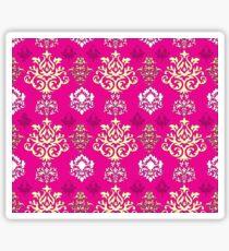 Multicoloured Damask Five Sticker