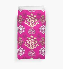 Multicoloured Damask Five Duvet Cover