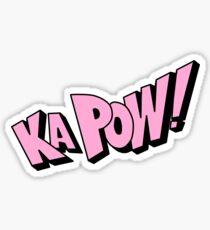 Ka Pow! Sticker