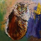 Siberian Cat by Michael Creese