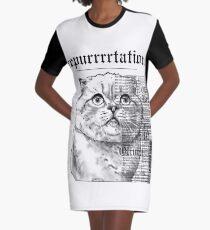 Repurrrtation by zerobriant Graphic T-Shirt Dress
