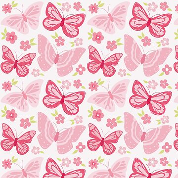 Pink Butterflies by brusencov386