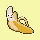 Kawaii banana by NirPerel