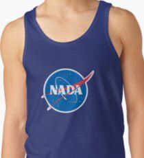 #NADA Flat Earth Parody Logo Tank Top
