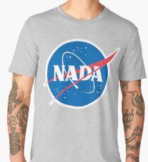 #NADA Flat Earth Parody Logo Men's Premium T-Shirt
