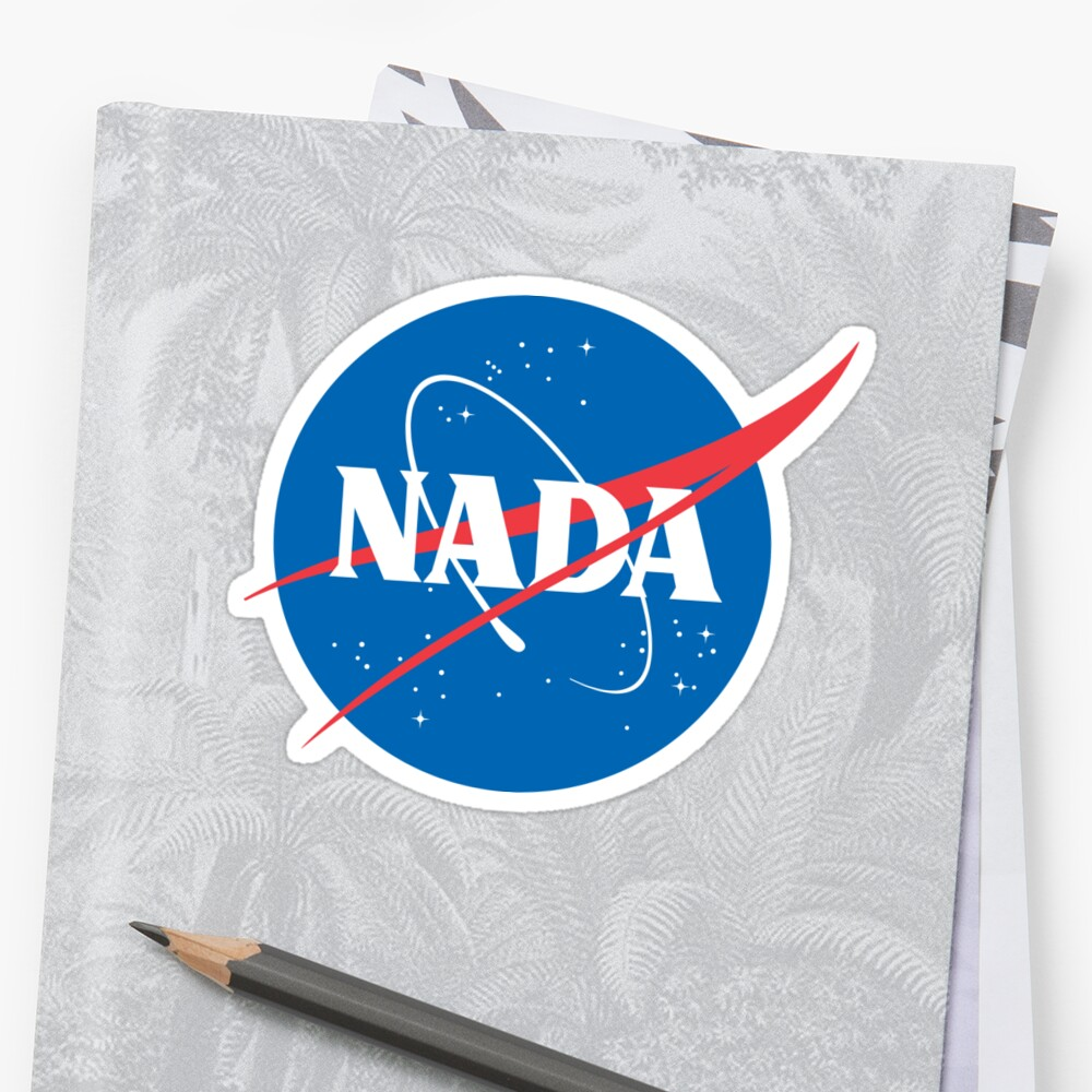 #NADA Flat Earth Parody Logo by GLOBEXIT
