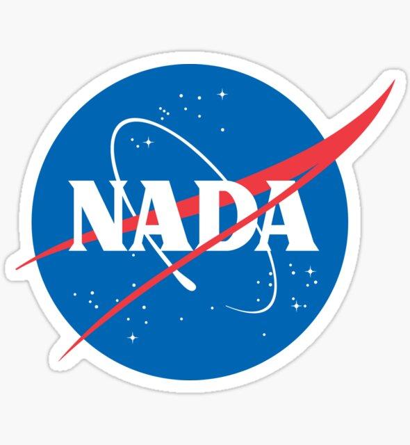 #NADA Flat Earth Parody Logo by GLOBEXIT