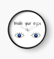 (Universe) Inside your eyes Clock