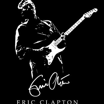 Eric Clapton - rock-blues-music - Stratocaster by carlosafmarques