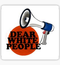 Dear White People Logo Sticker