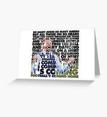 Football's Coming Home, Gareth Greeting Card