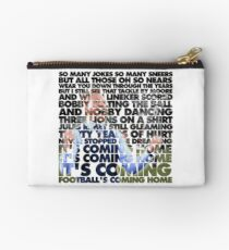 Football's Coming Home, Gareth Studio Pouch