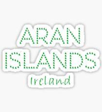 Aran Islands, Ireland Sticker