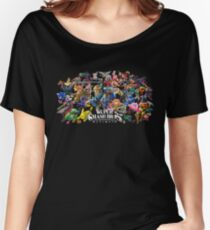 Super Smash Bros. Ultimate™ - Challengers Roster Women's Relaxed Fit T-Shirt