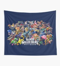 Super Smash Bros. Ultimate™ - Challengers Roster Wall Tapestry