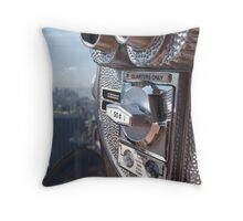 Quarters Only Throw Pillow